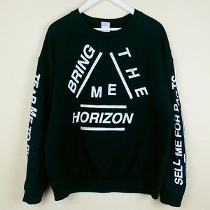 Bring Me The Horizon Band Sweatshirt Unisex XL